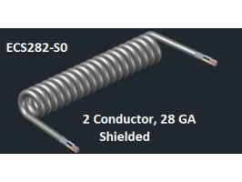 ECS282 | 28 AWG 2 COND | ALUMINUM SHIELDED
