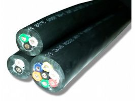 Straight Cable | 12 Gauge with 9 Conductors | 600 Volts | No Shield